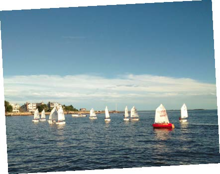 MudRatz practice sessions are held on Sunday evenings in Stonington Harbor.