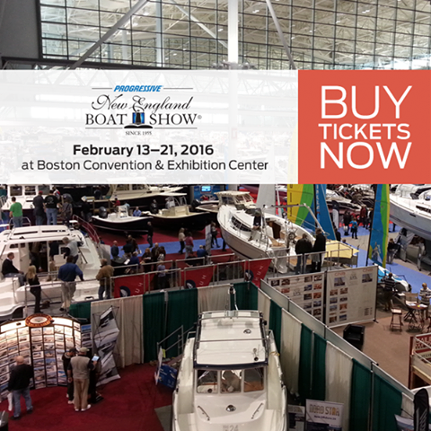 New England Boat Show in Boston Feb 13-21, 2016