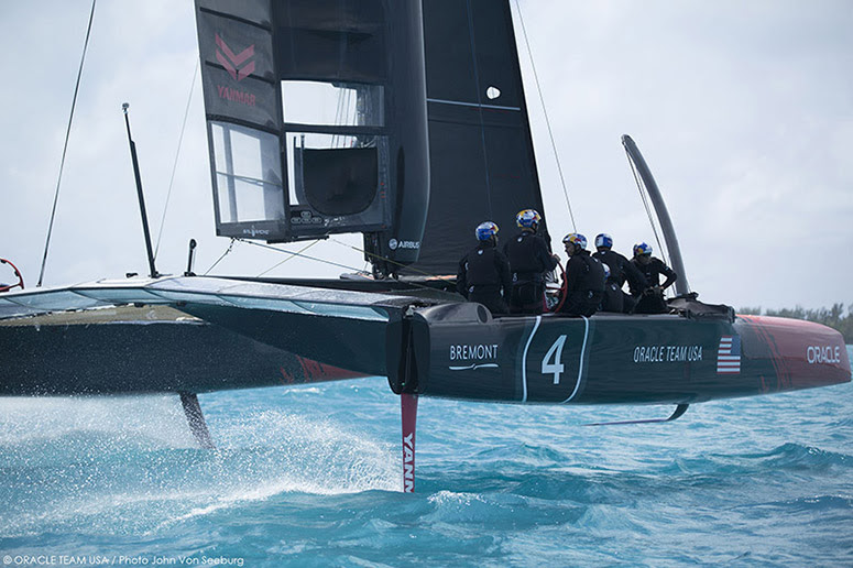 US Intercollegiate Sailors will intern with ORACLE TEAM USA and North Sails