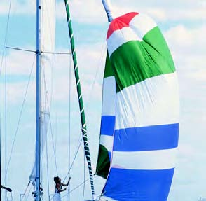 Spinnaker socks, also known as sleeves or snuffers, make hoisting, setting and dousing cruising spinnakers much easier, especially for couples, families and singlehanded sailors.
