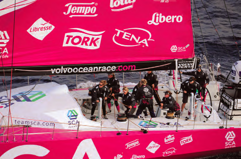 Sally's Sailing with Team SCA!
