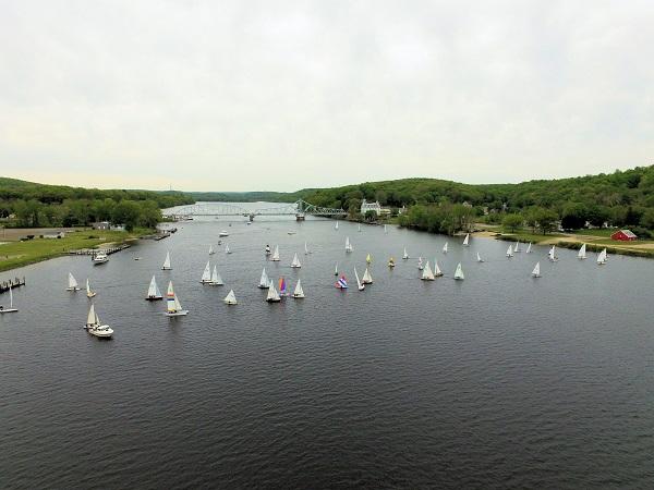 Connecticut River Dinghy River Distance Race