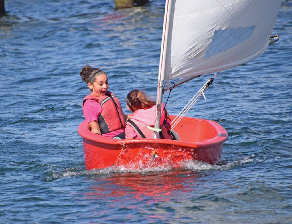 Above all else, learning to sail should be FUN!
