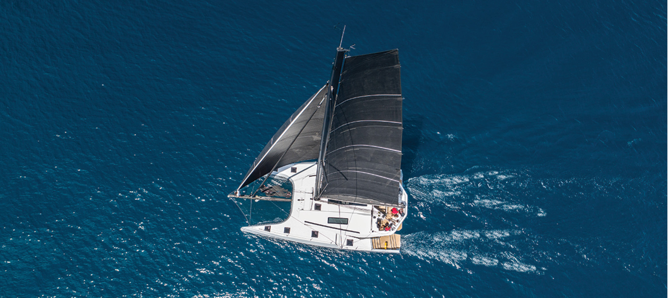First Sail Test Review: McConaghy MC50 The first of a new line of luxury performance cats that can sail as fast as the wind