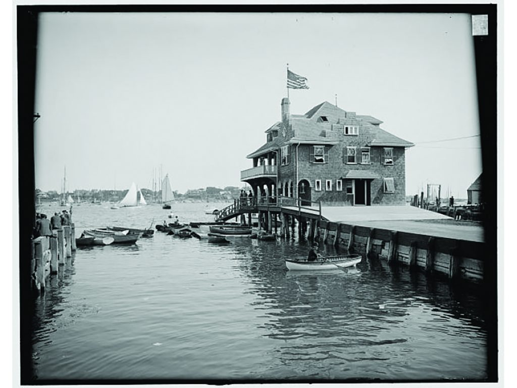 Boston Yacht Club in Marblehead, MA is the birthplace of the U. S. Power Squadron.