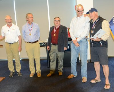Sound Sailing Center Crew Awarded Arthur B. Hanson Rescue Medal