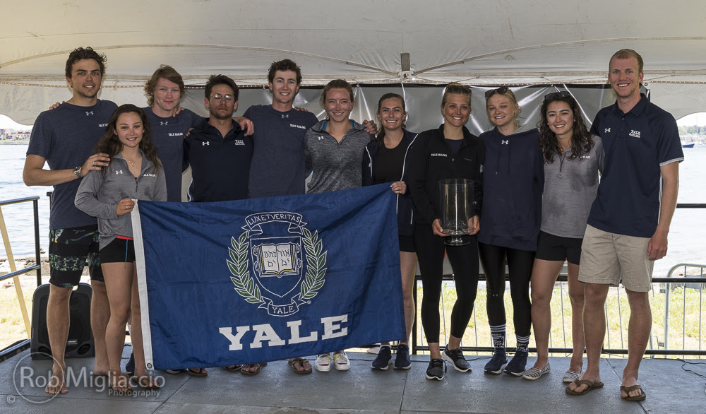 Yale is the LaserPerformance Team Race National Champion