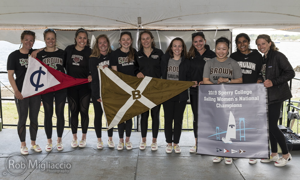 Brown University is the Sperry Women's College Sailing National Champion