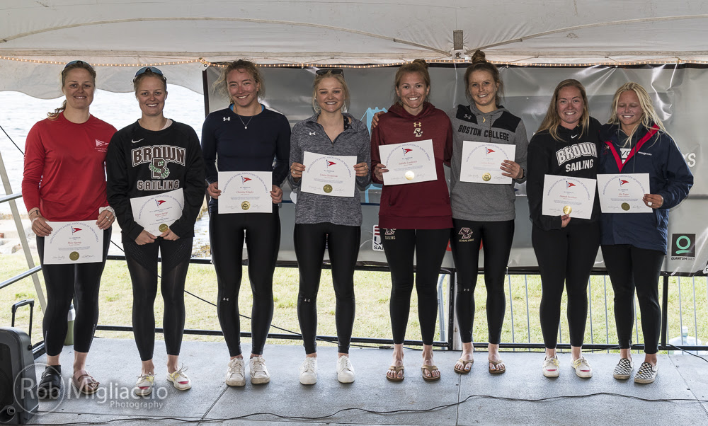 Ragna Agerup of Brown University named Quantum Women's Sailor of the Year; Women's All-Americans named