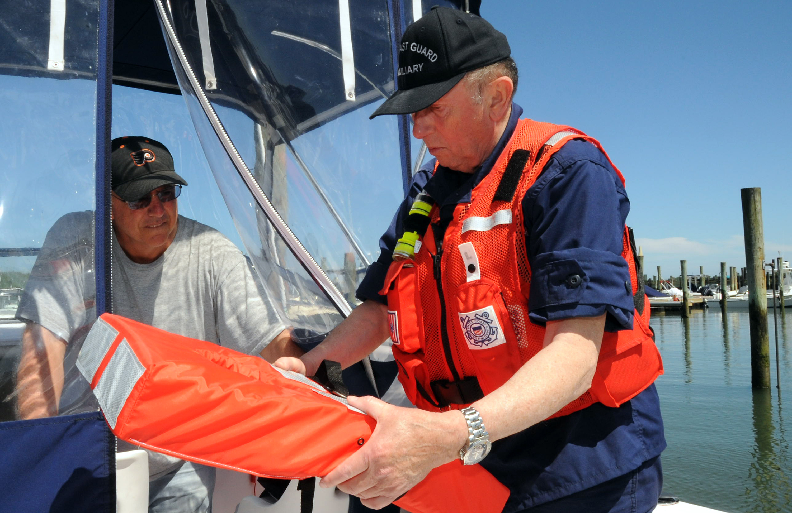 President Trump Thanks the United States Coast Guard Auxiliary for 80 Years of Service