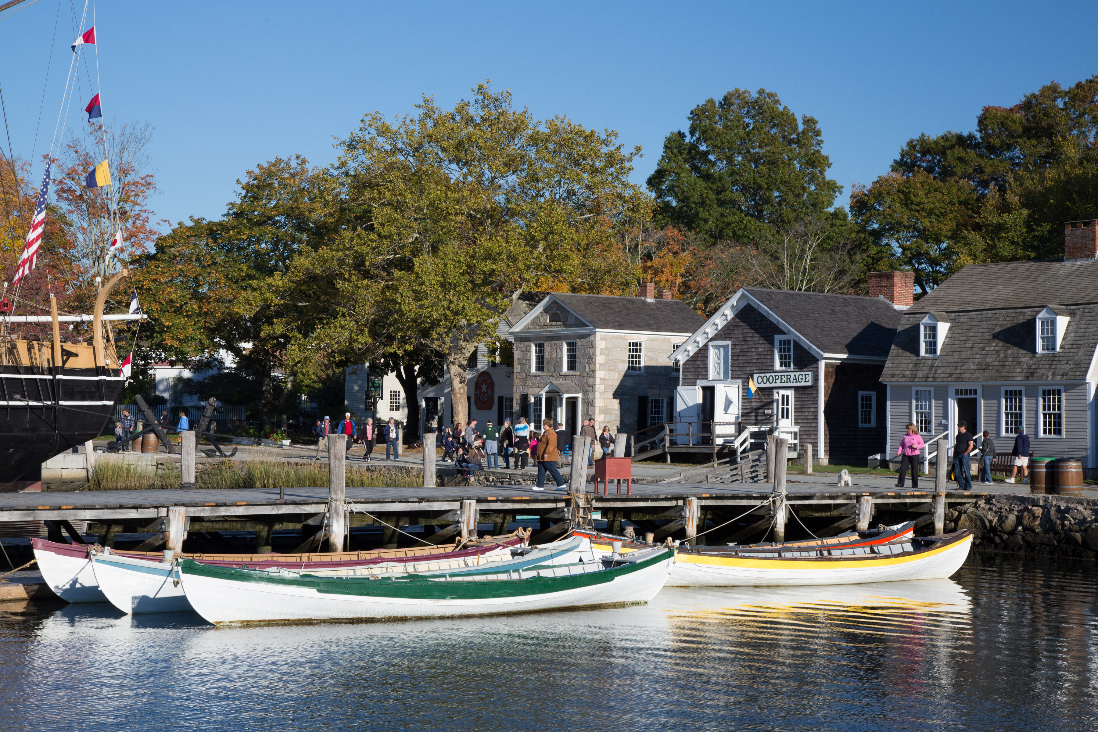 Mystic Seaport Museum Announces Projects to Complement Mission and Enhance Grounds