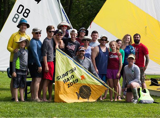Rockin' the River: Sunfish Adventure Raid 2019