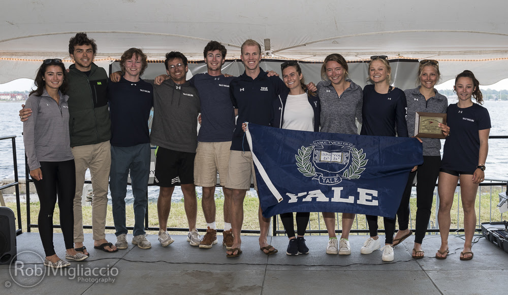 2019 Marlow Ropes College Sailor of the Year, Fowle Trophy, Hobbs Sportsmanship and All-America Team Announced