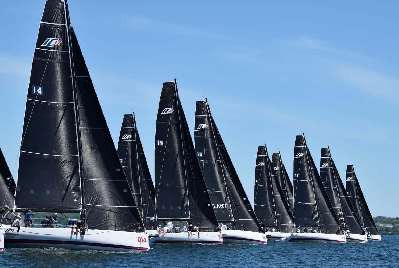All Bows Point Toward Newport for the 165th NYYC Annual Regatta