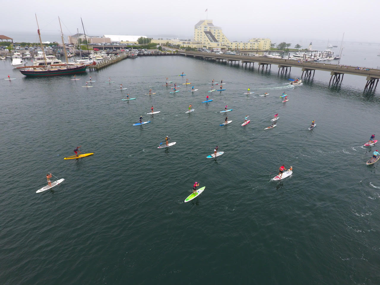 Eighty-six paddlers enjoyed the 2nd Annual Paddle for Access to bring awareness and raise over $8K for Clean Ocean Access