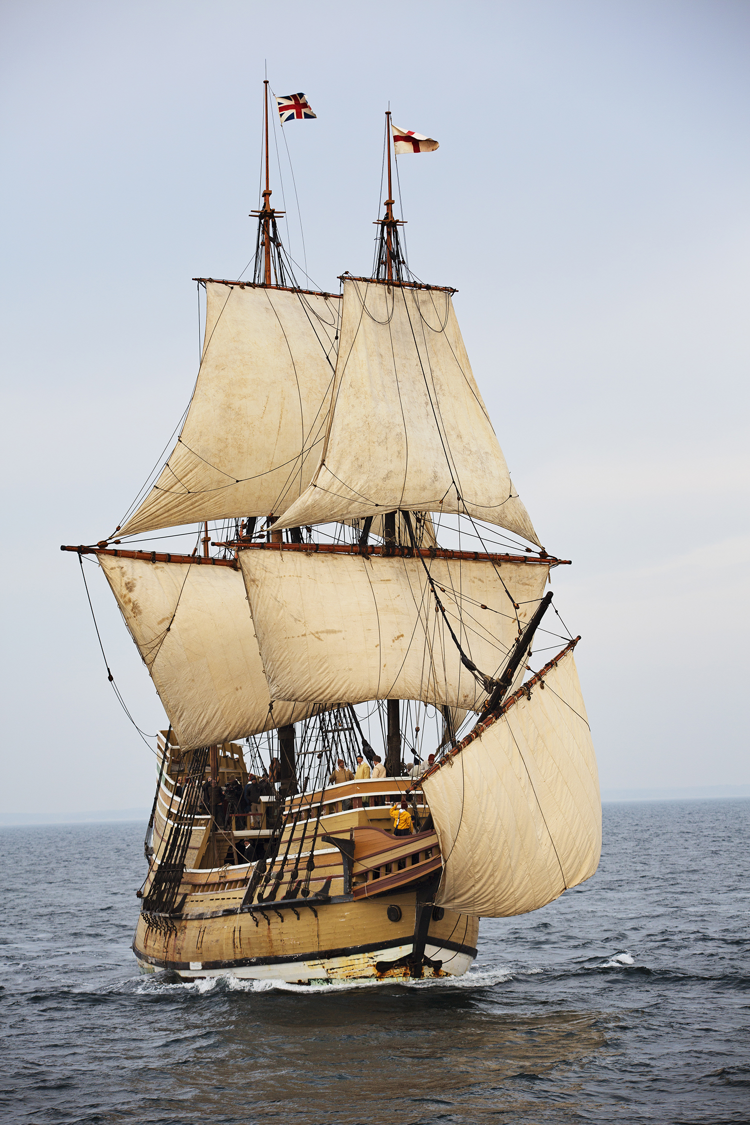 Plimoth Plantation to Launch Mayflower II at Mystic Seaport Museum on September 7