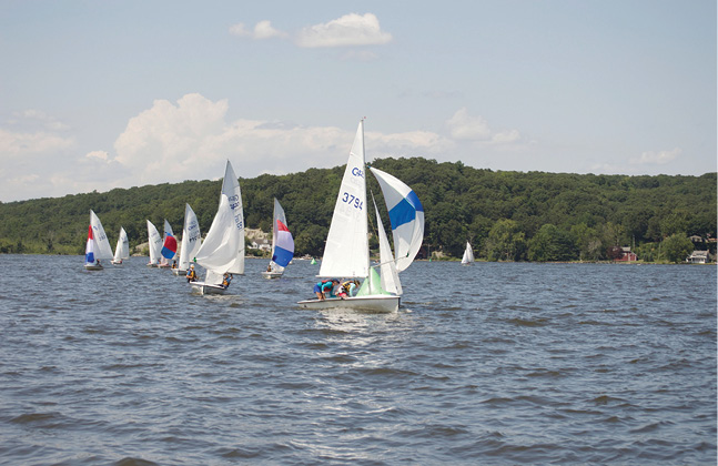 The Paul Risseeuw Pettipaug Junior Regatta