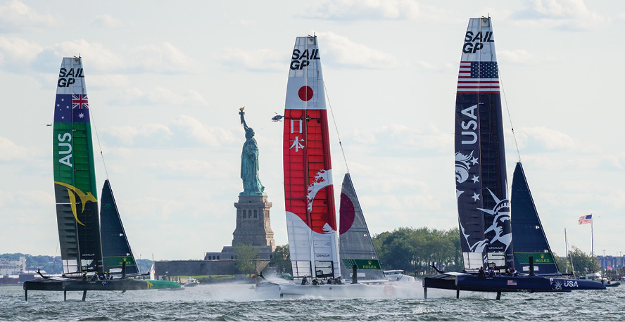 Japan Takes First Ever SailGP Event Win in New York