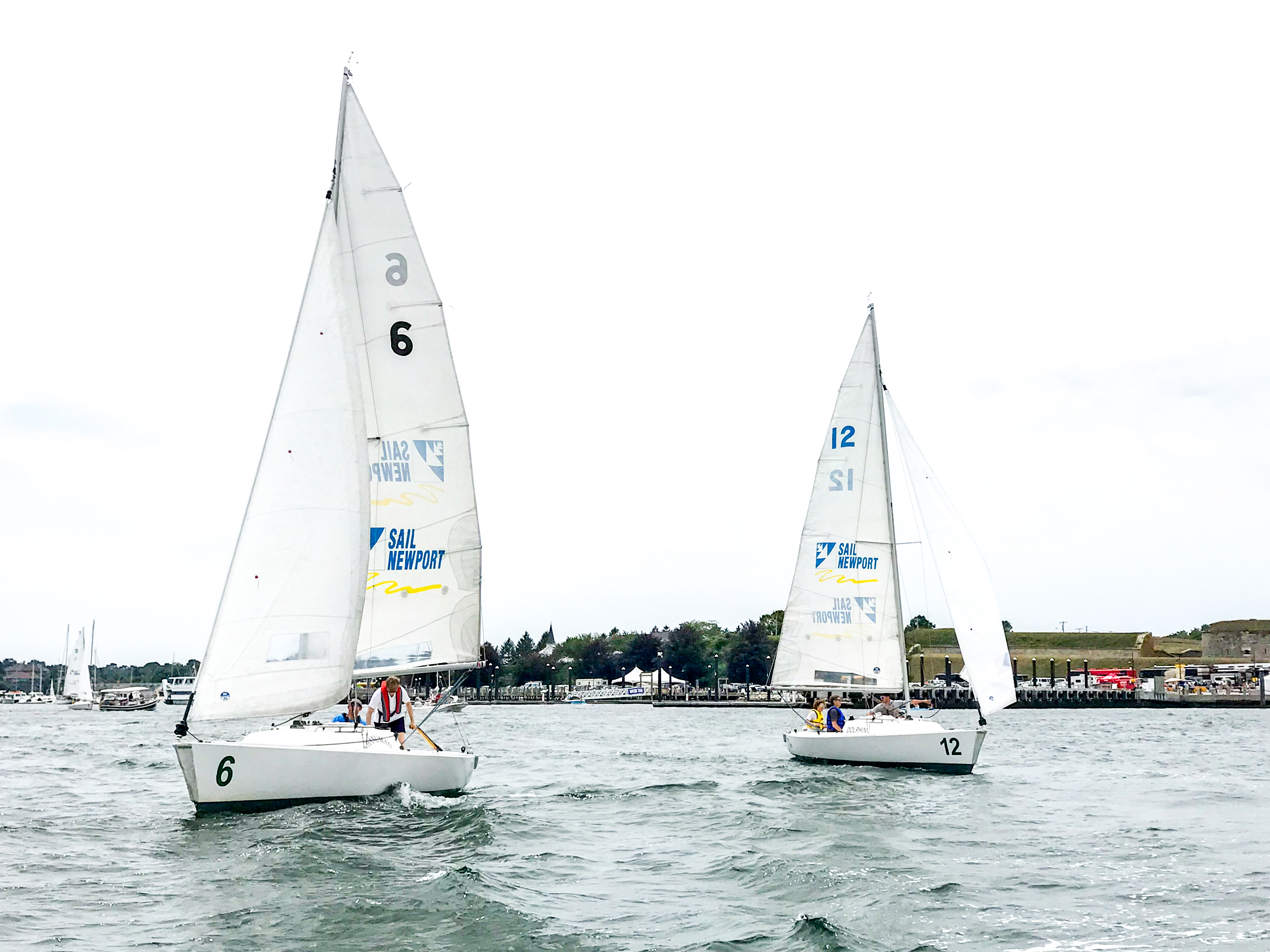 Celebrate Community Sailing with Sail Newport and New York Yacht Club American Magic on August 22