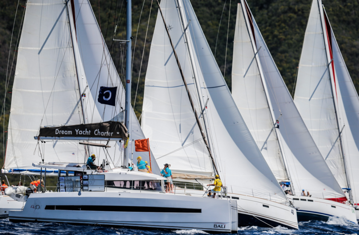 New three-year deal announced for Dream Yacht Charter and Antigua Sailing Week