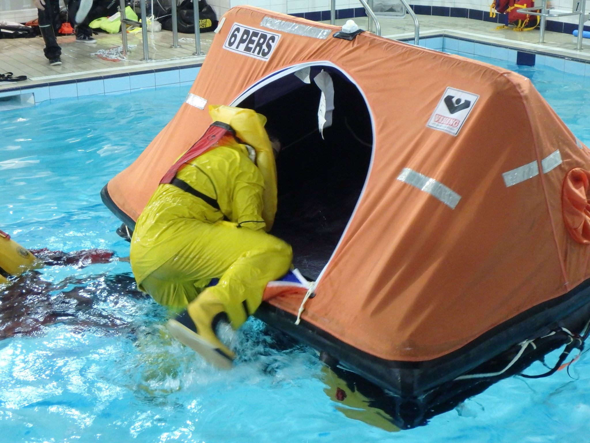 Offshore Sea Survival Course in New York, New York on October 19 & 20