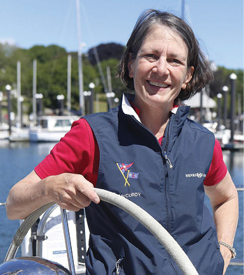 Sheila McCurdy will discuss the Newport Bermuda Race at Essex Yacht Club's Ocean Racing Forum