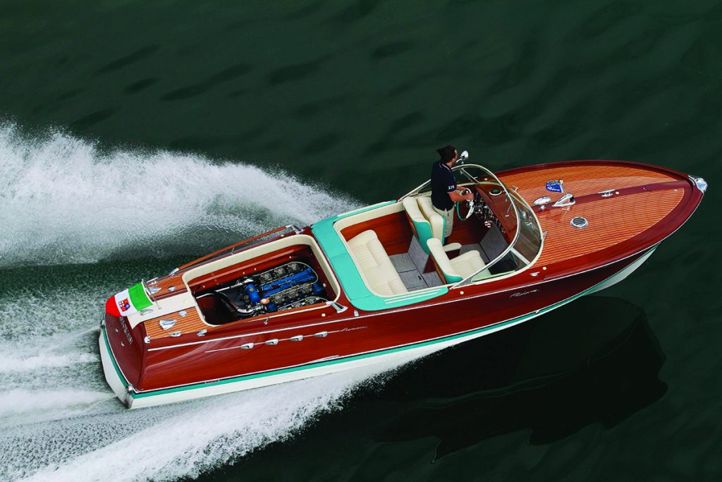 Powerboats don't get any cooler (at least in the opinion of our Editor-in-Chief) than this Riva Lamborghini with its twin V-12 engines, but it's well to remember that there's a time and place for wide-open throttle.
