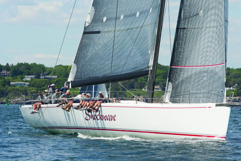 McMichael Yacht Yards & Brokers has taken their long-standing relationship with the Newport Bermuda Race to the next level by becoming an Official Sponsor of the biennial 635-nautical mile race. © Stephen R Cloutier
