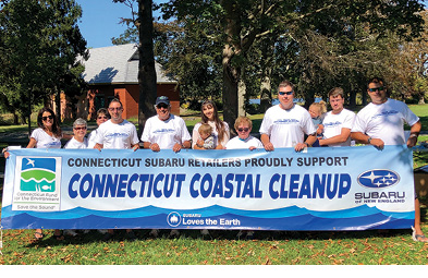 Coastal Cleanup Expands with Subaru of New England Partnership