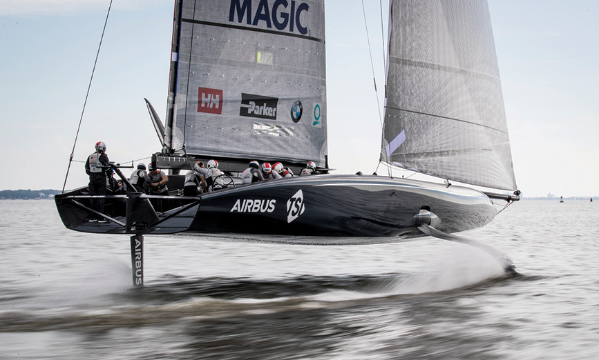 An Interview with Nick Dana, New York Yacht Club American Magic Sailing Team