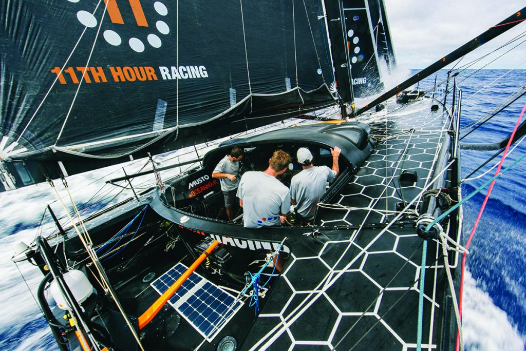 Crew trials for 11th Hour Racing's entry in The Ocean Race will commence in the coming months. © Amory Ross/11th Hour Racing Team
