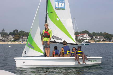 Opening a New Port for Learning to Sail and Enjoy Scenic Buzzards Bay