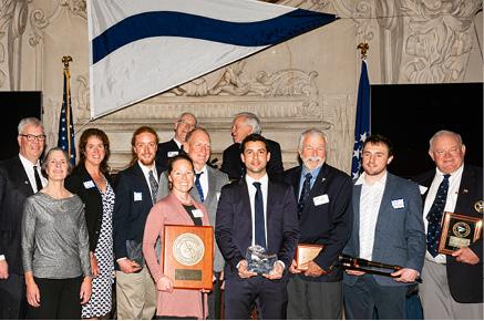Sheila McCurdy Receives Cruising Club of America's Richard S. Nye Trophy
