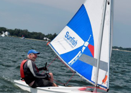 50th Annual World's Longest Sunfish Race, Around Shelter Island NY is July 18
