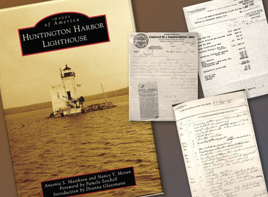 Book Supports the Preservation of Huntington Harbor Lighthouse