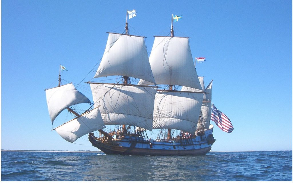 Kalmar Nyckel, The Tall Ship of Delaware, Voyages to Mystic Seaport Museum