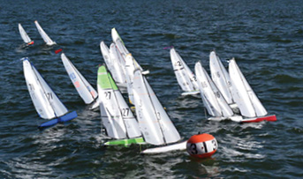 DragonFlite 95 Debuts Model Boat Racing at Nantucket Race Week
