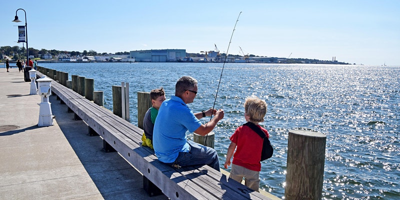 NESS Kids & Family Fishing Tournament at New London City Pier Saturday, September 26