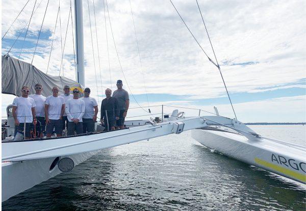 Team Argo Sets New Around Jamestown Record