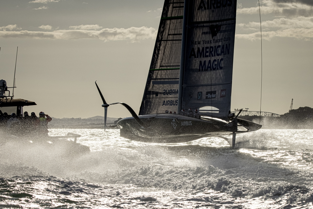 PATRIOT Competes First Sail in Auckland