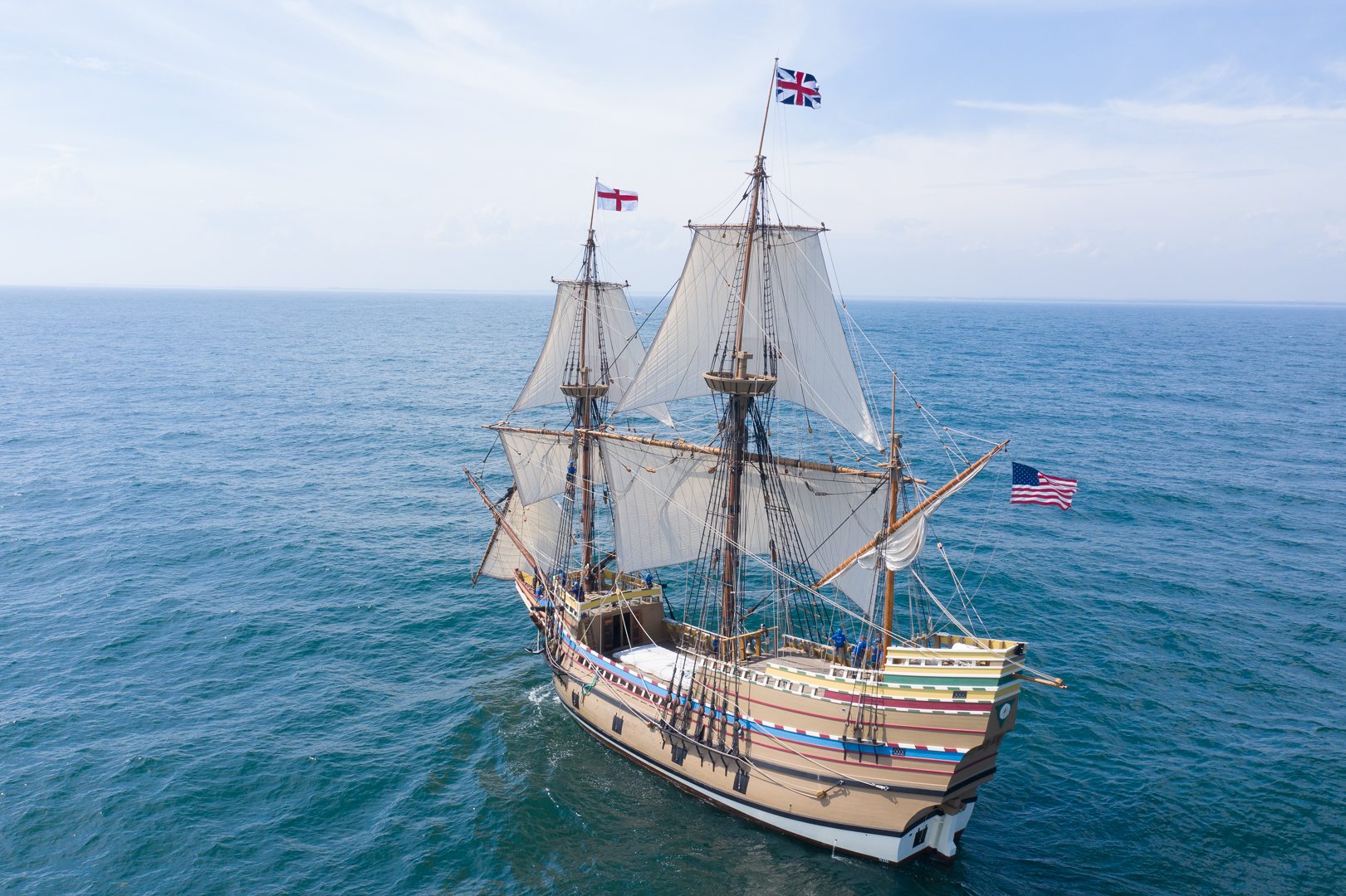 Mayflower II Added to the National Register of Historic Places