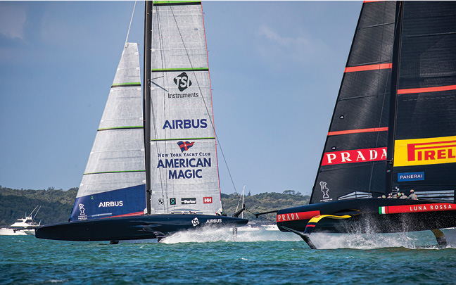 American Magic, Quantum Racing, and NESS Partner to Bring America's Cup Sailing to Students