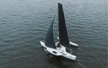 Ryan Finn Attempts First World Record for a Solo Non-Stop Sail from NY to San Francisco