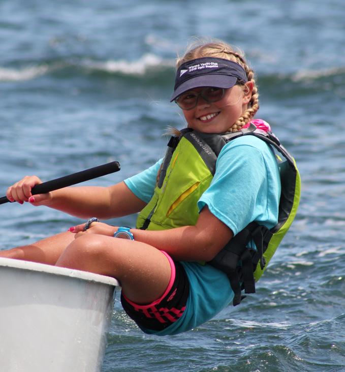 Kate van Berkel (11), Pettipaug Yacht Club and New England Science & Sailing