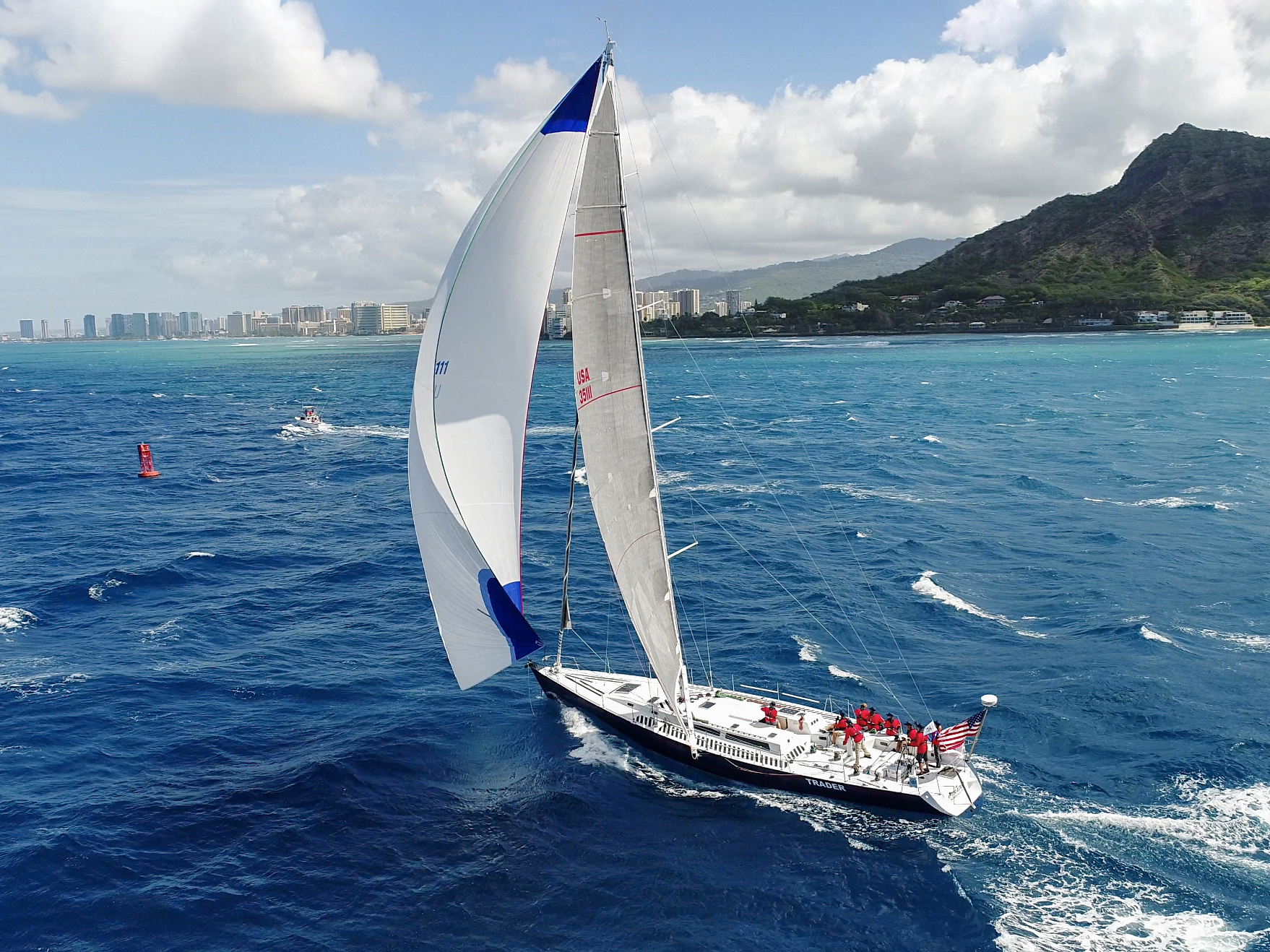 TRADER Sailing Announces Mixed Military Veteran and Female Sailor Campaign for Transpac 2021