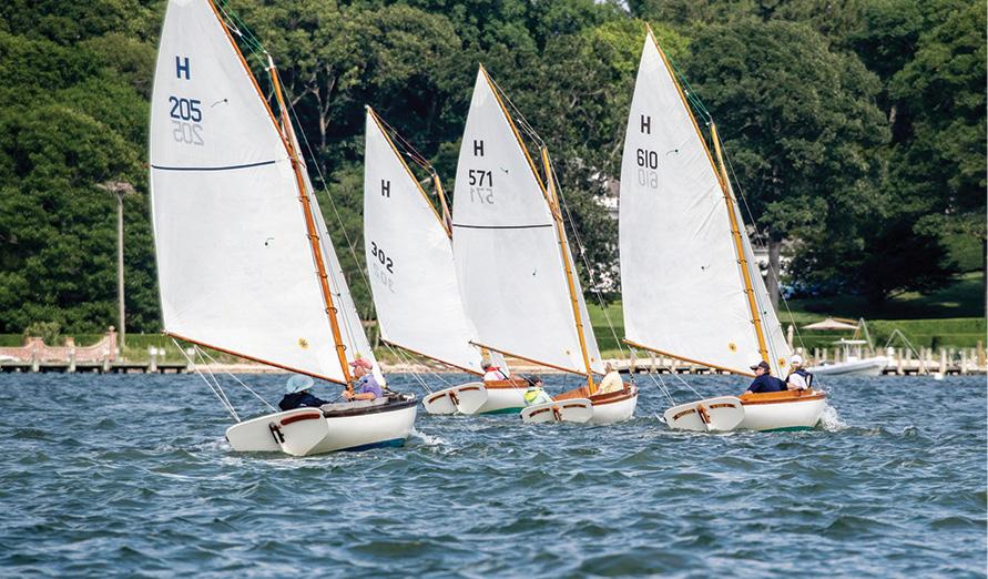 The H12 Fleet of Shelter Island Yacht Club