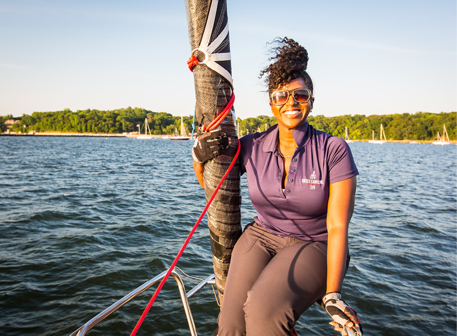 Women on the Water: Ayme Sinclair