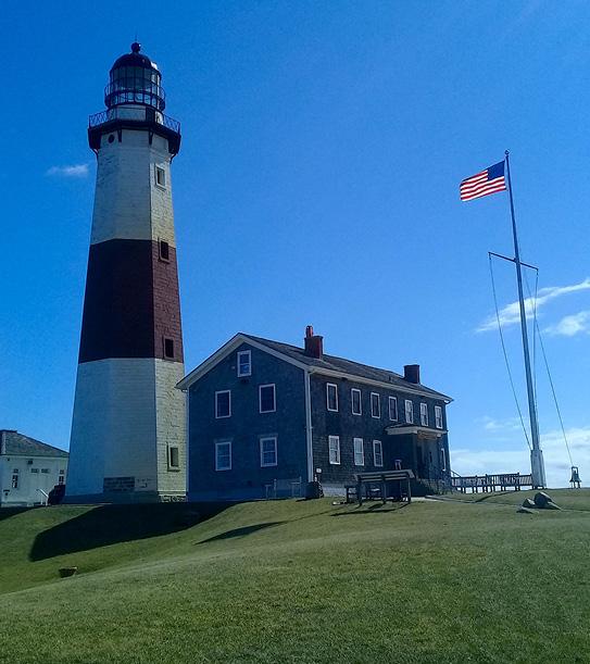 Montauk Lighthouse Restoration Project and Bluff Revetment