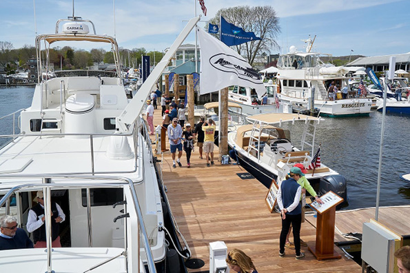 The 2021 CT Spring Boat Show in Essex, CT is On!