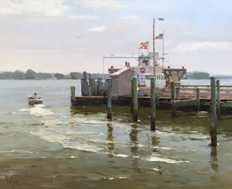 Lyme Art Association presents Ships to Shore: A Marine Show and The Hudson Valley Art Association 88th Annual Exhibit, on view from May 21 through July 22